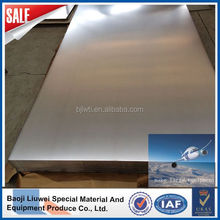 grade 2 astm b265 titanium sheet for industry