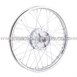 "2530725 motorcycle spoke wheels 1.4x17"" complete with hub and spokes"