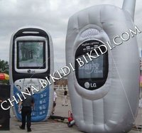 inflatable mobile phone replica