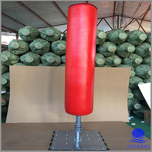 Free Standing artificial leather punching bag for man