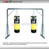 GX9842 High Quality GYM Two People Huge Heavybag Stand For Training