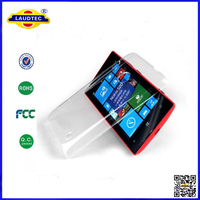 Crystal Clear Case for Nokia Lumia 520 LAUDTEC
