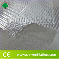 Alibaba China greenhouse cheap 8mm sunshade roof polycarbonate sheet
