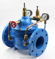 Hydraulic wafer Flow rate Diaphragm Directional Control Valve