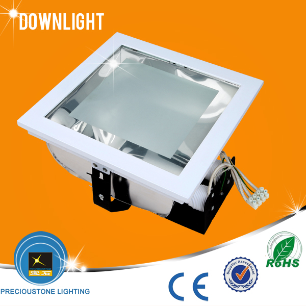 New design recessed square <strong>downlight</strong> 2*E27