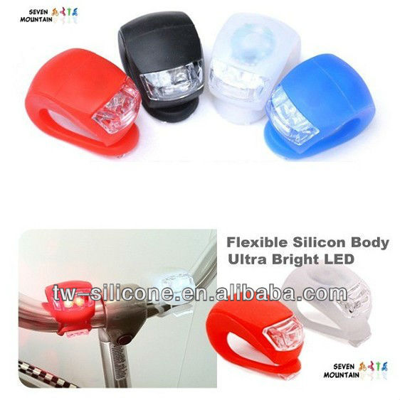 Silicone Smart Police LED Bike Light Rope Lights Bike