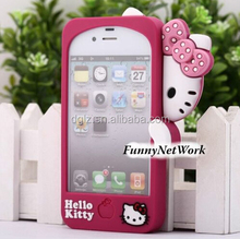 supplier pc/PU for ipad cute hello kitty mini silicone case for lg