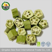 fd vegetable freeze dried okra for fast food