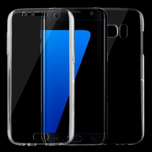 For Samsung Galaxy S7 Edge / G935 0.75mm Double-sided Ultra-thin Transparent TPU Protective Case