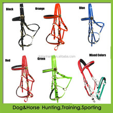 personalized diy endurance bridle horse and halter in TPU or PVC coated nylon