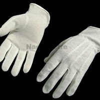 NMSAFETY 100 Cotton Sewing Driving Glove