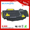 Newest Cool Unique Appreance Gaming Keyboard 4 Keys Programmable Macro Gaming Keyboard for Gamer