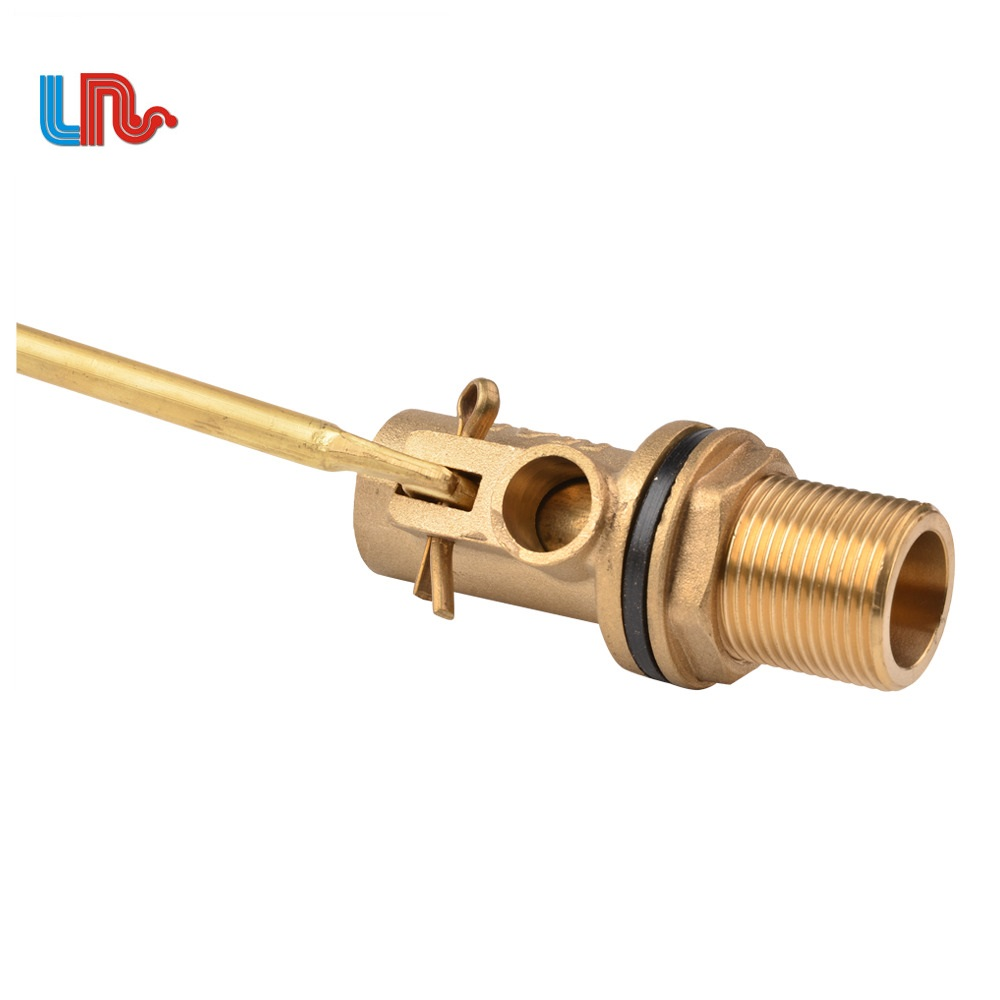 male thread mini plastic 2 inch small water tank brass float valve