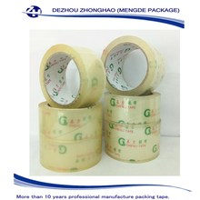 Self Adhesive And Water Activated Bopp Packing Tape Adhesive Waterproof Feature