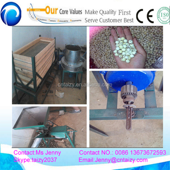 dry lotus seeds sheller, lotus shelling machine with cheap price
