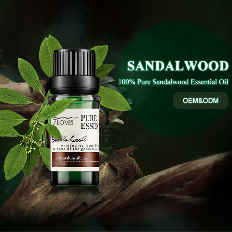 10ml Plant Extract Pure Sandalwood Essential Oil