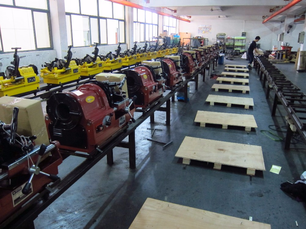 Hongli Electric Pipe Threading Machine SQ100D1 for Sale