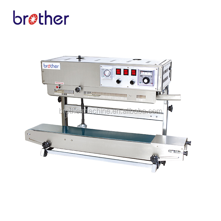 Brother FRD-1000 Vertical type candy date printing Continuous impulse heat sealer