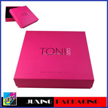 2012 new decorative cardboard boxes with lids