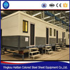 Movable foldable prefabricated container house flat , expandable shipping container home prefab store