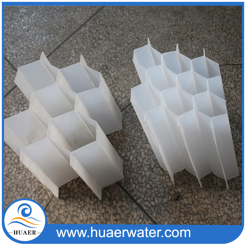 Sludge pool water treatment PVC lamella clarifier plate