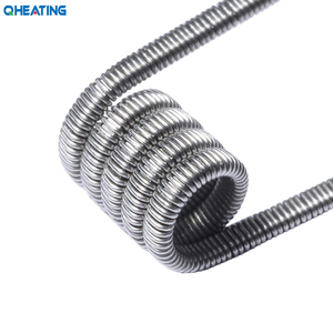 New arrival flat wire tiger/ twisted/clapton/alien coil wire