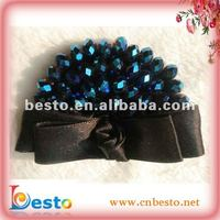 CF0018 New designs crystal bow for flat shoe or hair clip decoration.