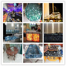 free sample for decorative new design led lighting flower po/gardern illuminated furniture