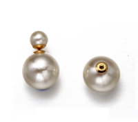 unique stud pearl earring designs for women pearl stud earrings