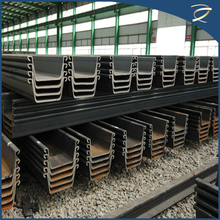 Cheap Price Hot Rolled U Shape Steel Sheet Piling Prices