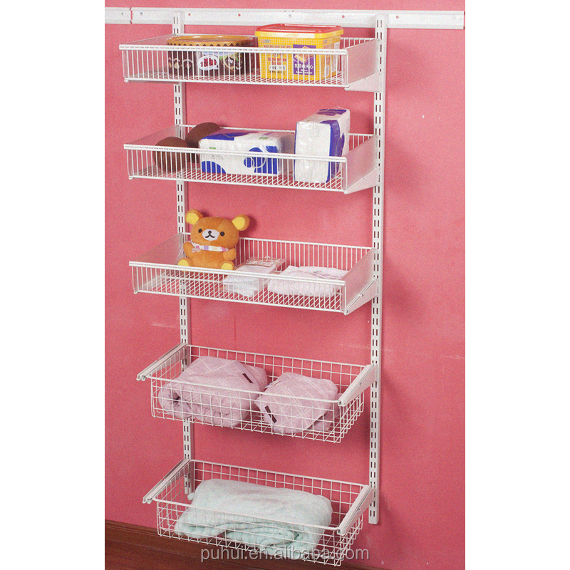 popular selling wall mounted wire shelf from factory directly