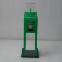 Fresh acrylic cigarette display case for this cigarette