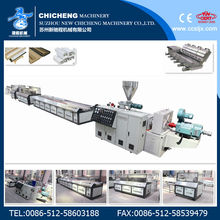 CE&ISO WPC Door and Window Frame Profile Production Line