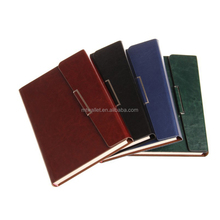 A5 business office supply luxury thick cardboard cover notebook PU diary monthly planner agenda journal paper organizer