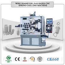 CE certified Variable speed Automatic cnc spring machine not used cnc spring coiling machine cnc spring coiling machine