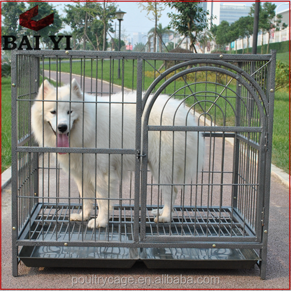 Outdoor Large Luxury Dog Runs Fence & Breeding Double Dog Cages (Factory Price)