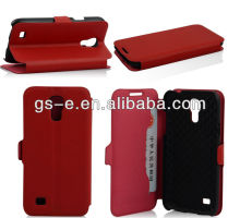 Competitive price for Samsung Galaxy S4 mini i9190 flip wallet PU leather stand cover case