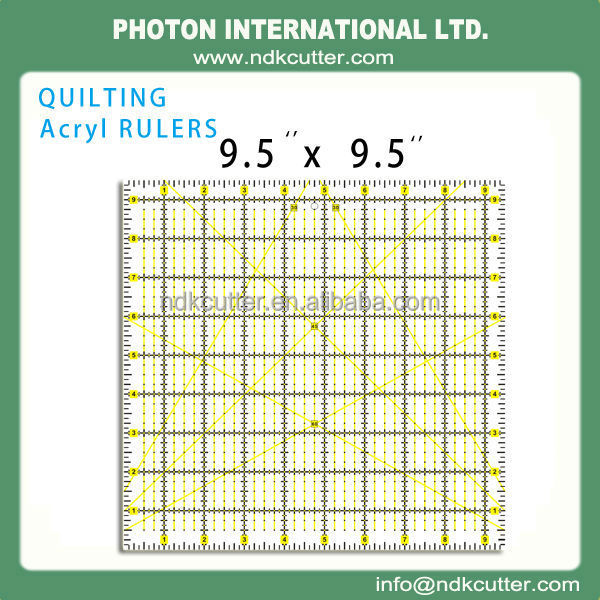 Quilting & sewing Ruler 6''x6''