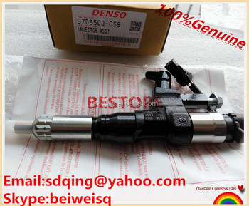 High Quality common rail injector 095000-6593 /095000-6591/ 9709500-659 / 23670-E0010 for HINO 095000-6