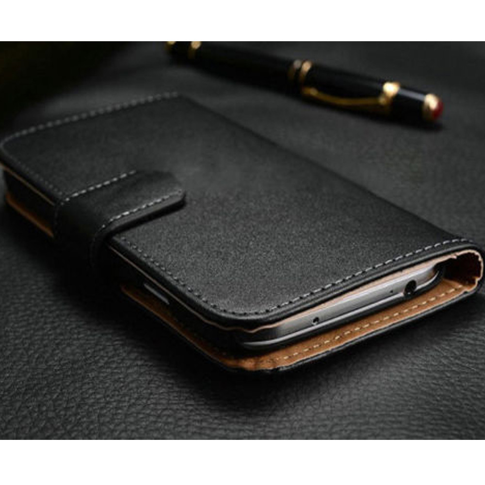 Luxury PU Leather Flip Case Wallet Card Holder Cover For iPhone 5 6 6s
