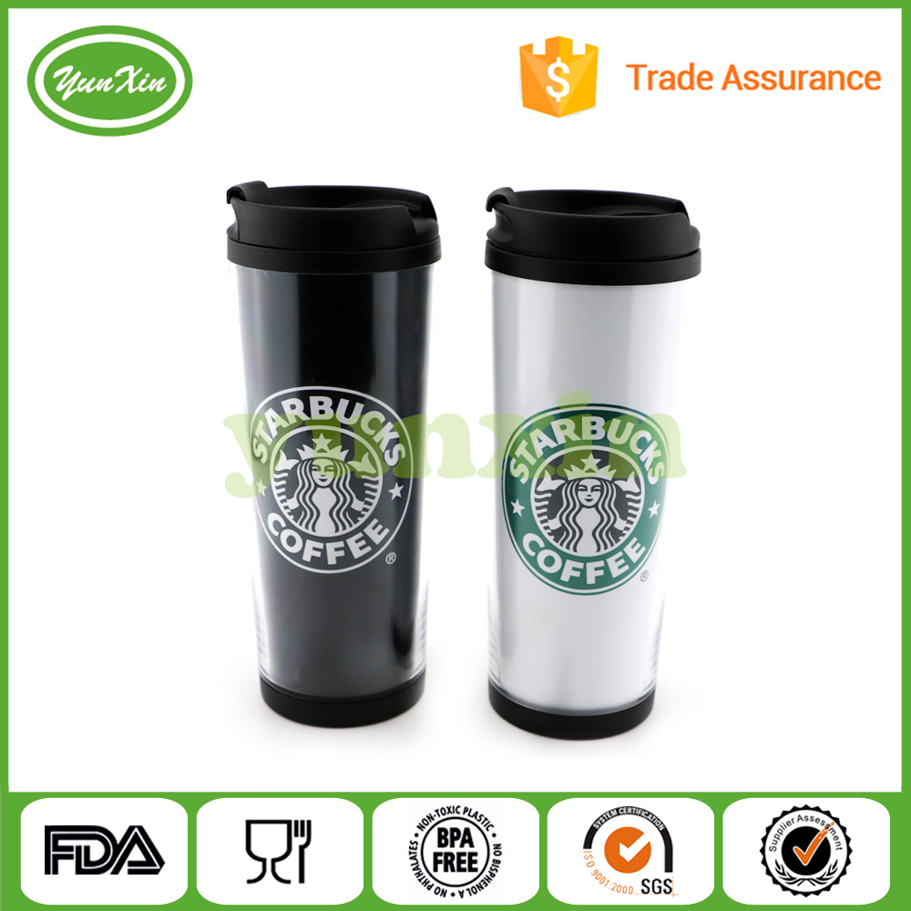 2016 bulk new product Hot white coffee mug