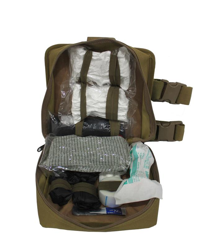 foliage: Military Medic leg rig kit bag