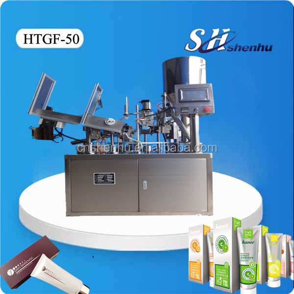shanghai factory new product full automatic plastic tube filling sealing machine for food/chemicals/cosmetics/toothpaste industy