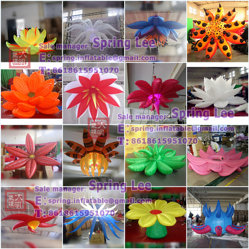 Hot Decorative Inflatable Flowers For Wedding Use