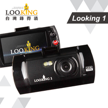 "[ Loo.king ] 2.7"" HDMI output car video recorder camera with G-sensor and parking mode 1080i GPCV 1248 140 degree lens"