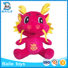 China high quality red dinosaur custom stuffed plush soft toy