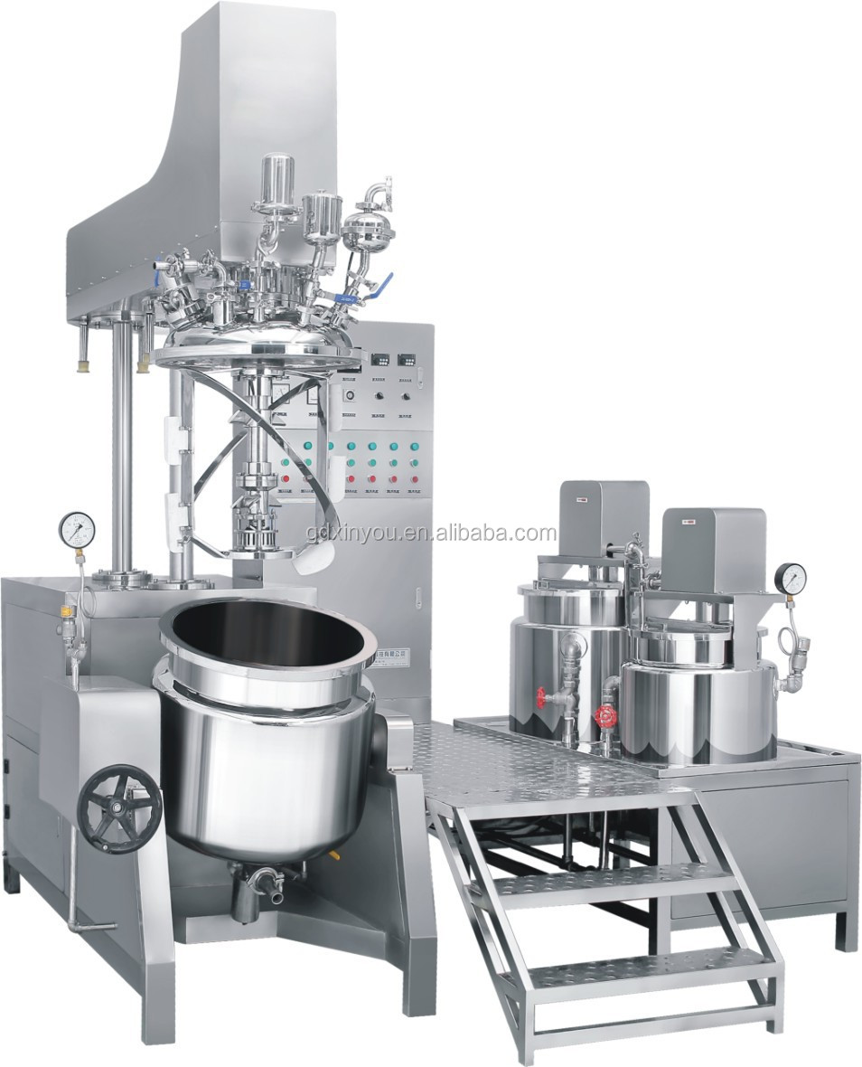 100L Vacuum Mixer for High Viscous Liquid