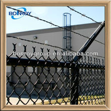 durable prison chain link fence weave fabric