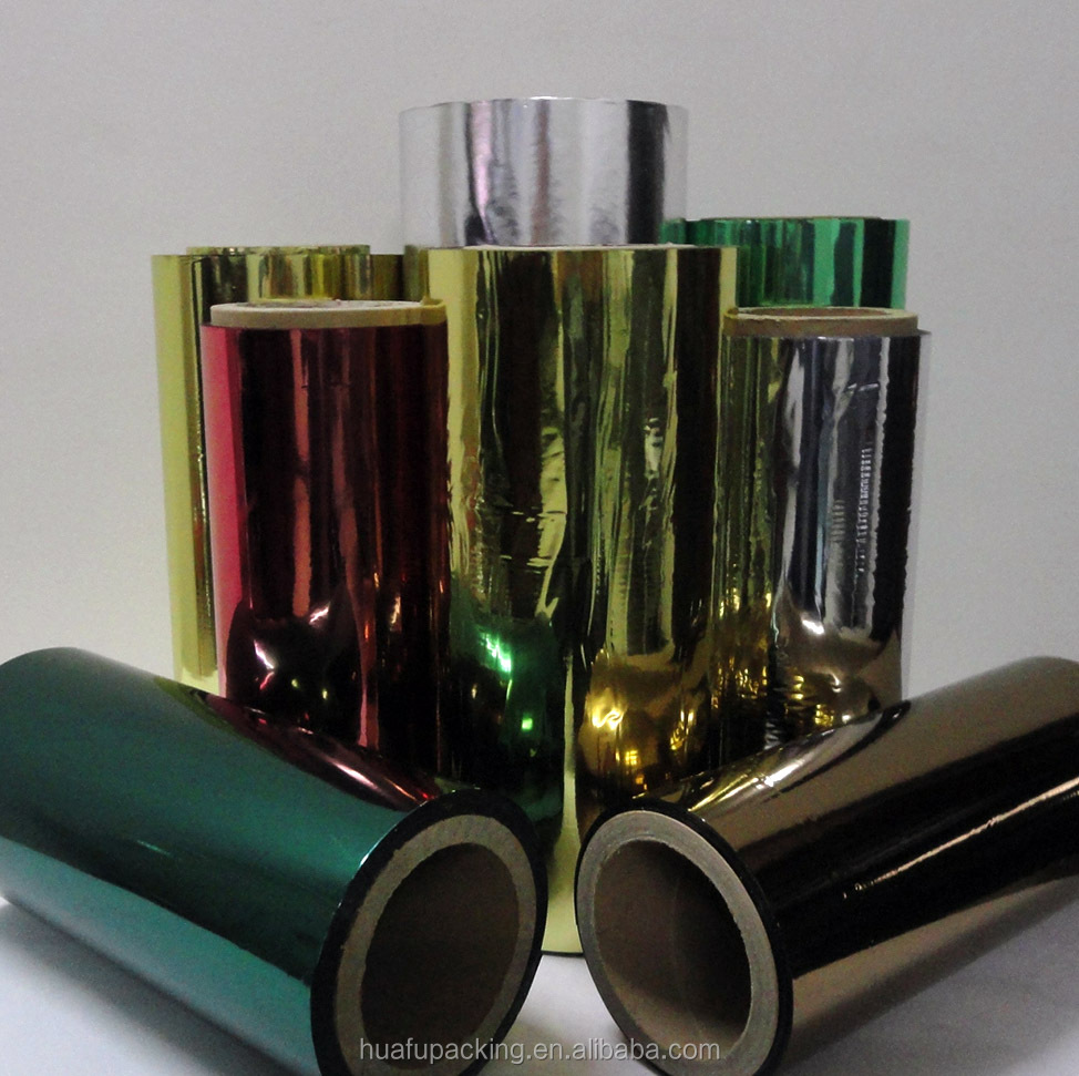Vivid Pet Metallic Laminating Film