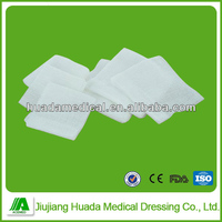 compressive sterile gauze swabs high quality surgical gauze swab